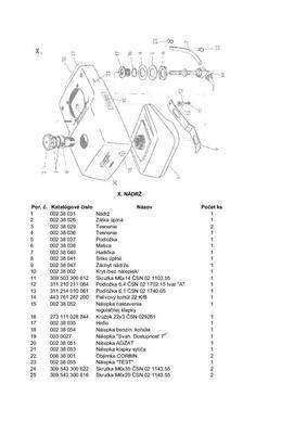 Palivová hadička DN6 PVC