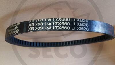 Řemen 17x660 Li XB nahrazeno 17x700 Li
