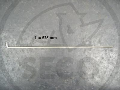 Táhlo zvedání sečení průměr 8mm