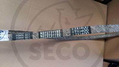 Řemen 17x1400 pohonu sečení