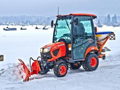 Kubota traktor BX231 Cab akce WINTER 2020 - 2